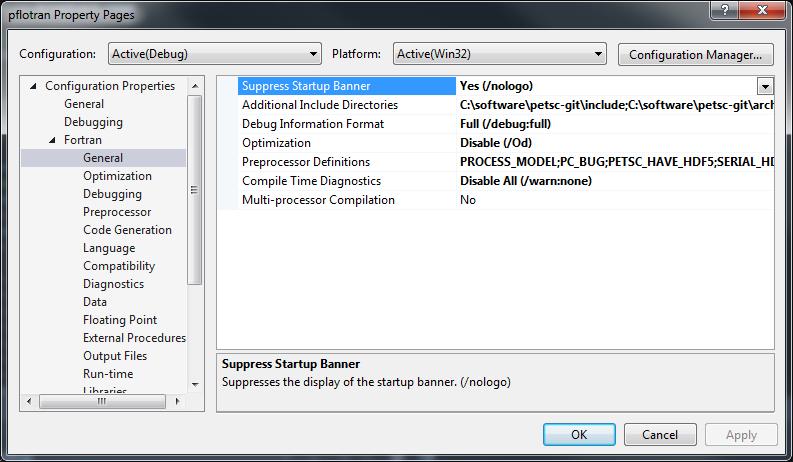 Windows Installation Instructions with Visual Studio